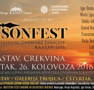 Čansonefest Kastav 2016