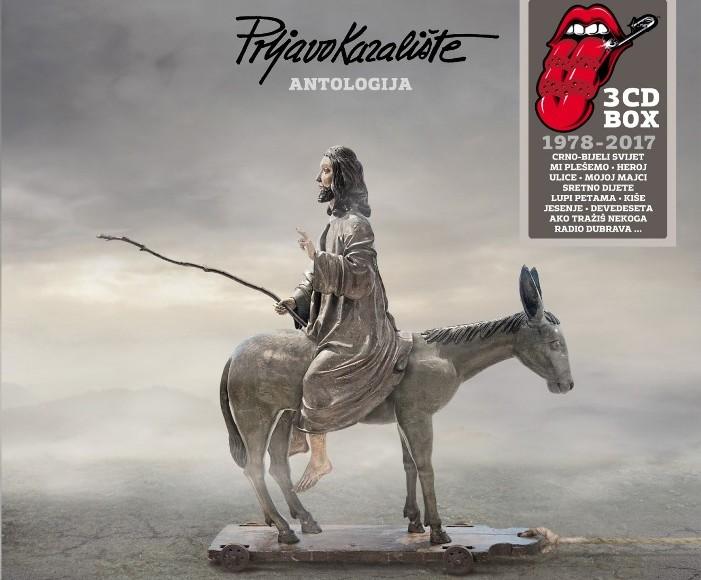 'Antologija' Prljavo kazalište Album Cover - design by Igor Kelčec
